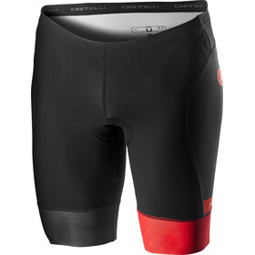 Castelli Free Tri Shorts Heren, red/fiery red
